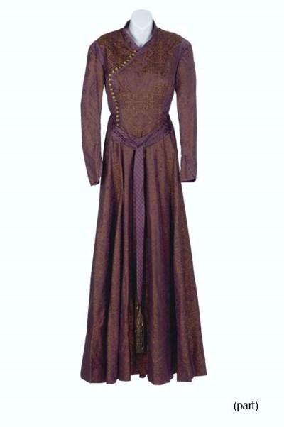 JOANNA CASSIDY'S VULCAN DRESSE