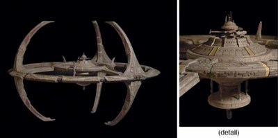 DEEP SPACE NINE MODEL