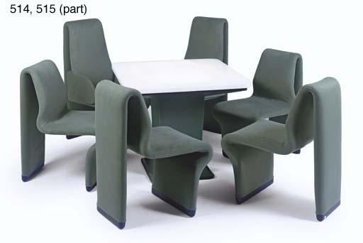 Ten Forward Table And Chairs Christie S