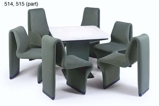 Ten Forward Table And Chairs, Star Trek Furniture