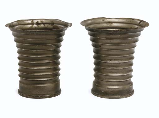 METAL KLINGON CUPS