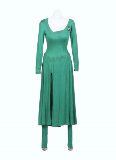 Counsellor Deanna Troi VI (Blue Dress) I (00) by ... |Deanna Troi Green