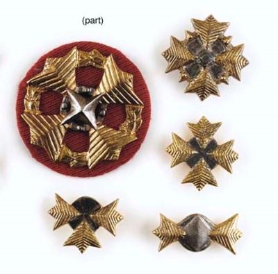 STARFLEET ADMIRAL'S RANK PINS