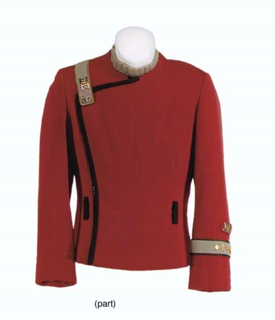 THREE STARFLEET UNIFORM JACKET