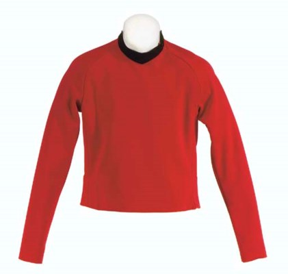 CHEKOV'S RED SECURITY UNIFORM
