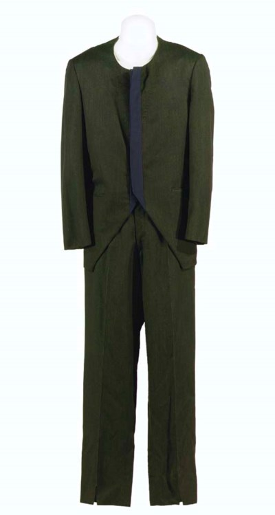 NILZ BARIS' SUIT FROM