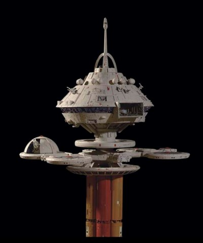 REGULA ONE SPACE STATION MODEL