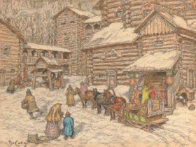 Appolinarii Mikhailovich Vasnetsov (Russian, 1856-1933)