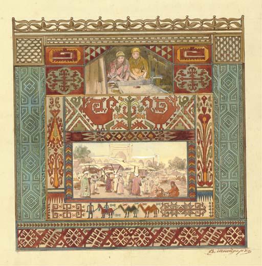 V. Schneider (Russian, act. 19