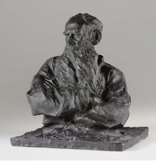 Bust of Lev Tolstoy
