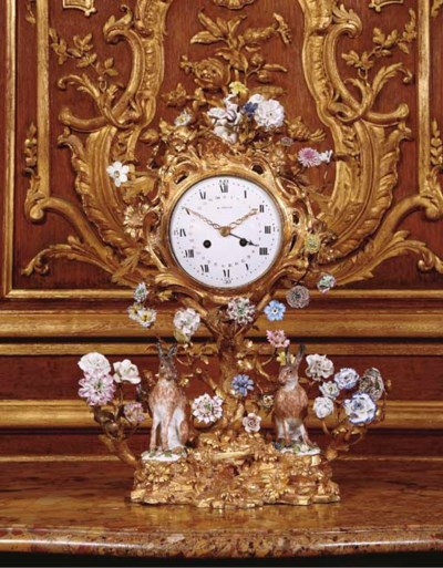 A FRENCH ORMOLU, FRENCH AND ME