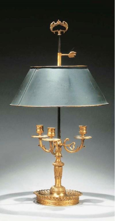 LAMPE BOUILLOTTE DE STYLE EMPI