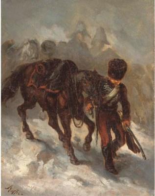 AUGUSTE RAFFET (PARIS 1804 - 1