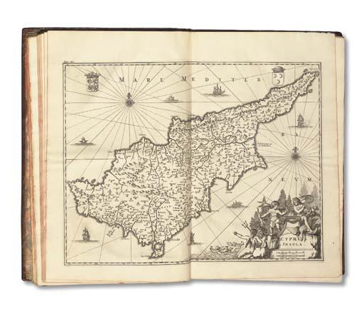 DAPPER, Olfert (1639-1689). Description exacte des isles de l'achipel, quelques autres adjacentes; dont les principales sont Chypre, Rhodes, Candie, Samos, Chion Negrepont, Lemnos, Paros, Delos, Patmos, avec un grand nombre d'autres. Amsterdam: George Gallet, 1703.