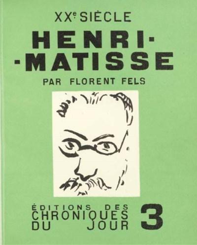 FELS, Florent. Henri Matisse.
