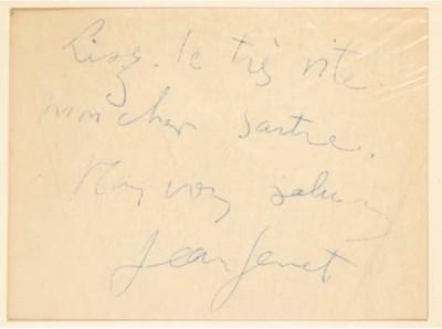 GENET, Jean (1910-1986). Mirac
