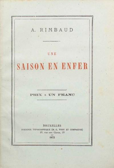 RIMBAUD, Arthur (1854-1891). U