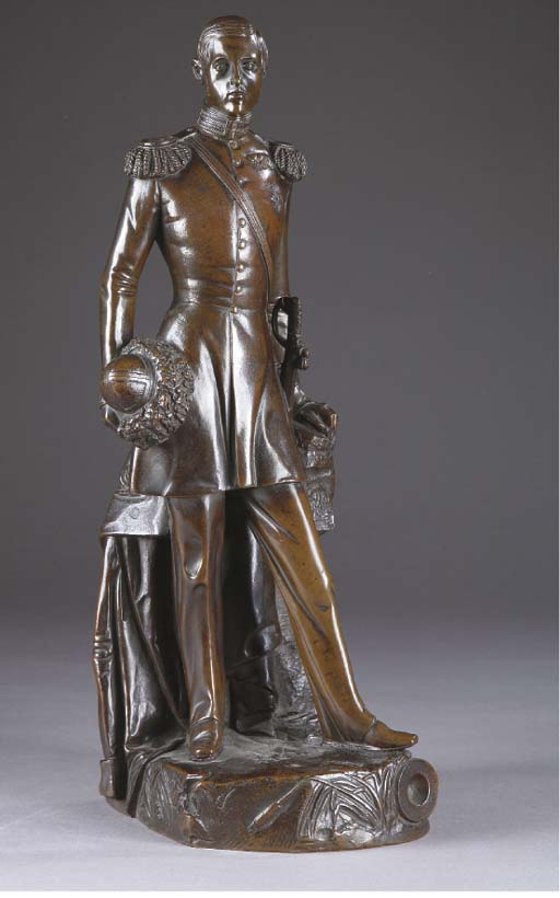 Statuette d'aristocrate russe