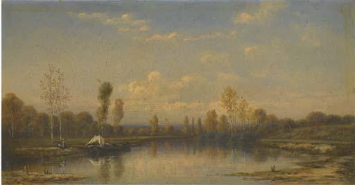 LOUIS-AUGUSTE ADOLPHE WILLIOT (SAINT QUENTIN 1829 - 1865 MORET)
