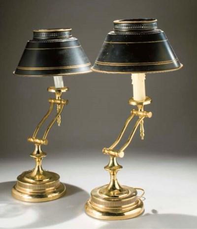 PAIRE DE LAMPES ARTICULEES