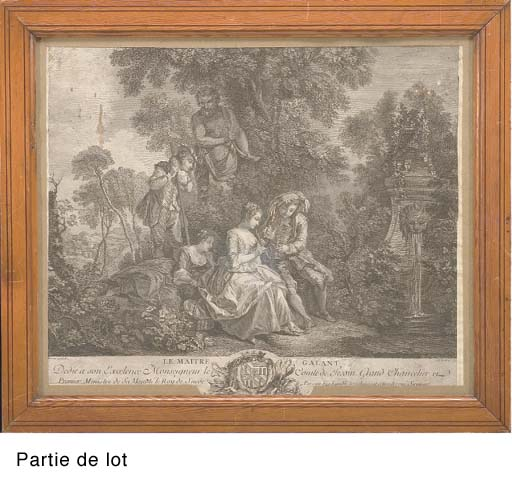 D'APRES NICOLAS LANCRET (1690-