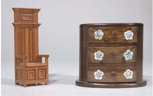 COMMODE MINIATURE VERS 1930