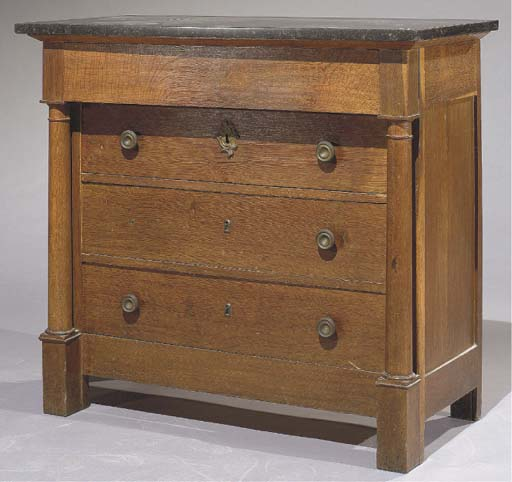 COMMODE D'EPOQUE EMPIRE