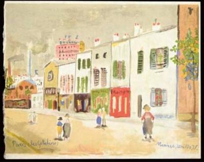 [UTRILLO] -- Maurice Utrillo.