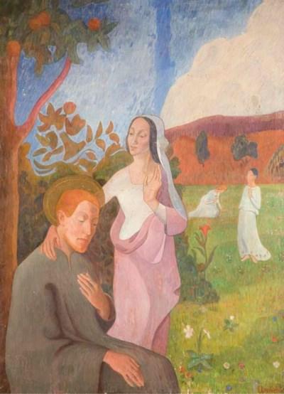 Francois Illas New Tradition: GAD FREDERICK CLEMENT (1867-1933) , Saint François Et La