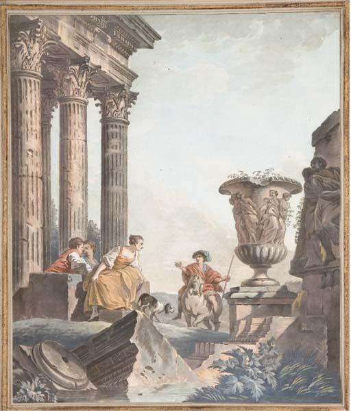 D'APRES GIOVANNI PAOLO PANINI (1692-1765)
