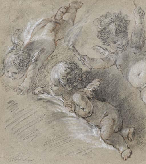 SUIVEUR DE FRANCOIS BOUCHER (1703-1770)