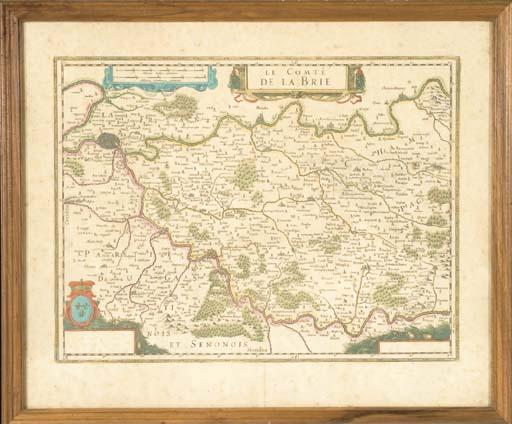 Comté de la Brie. (470 x 565 m