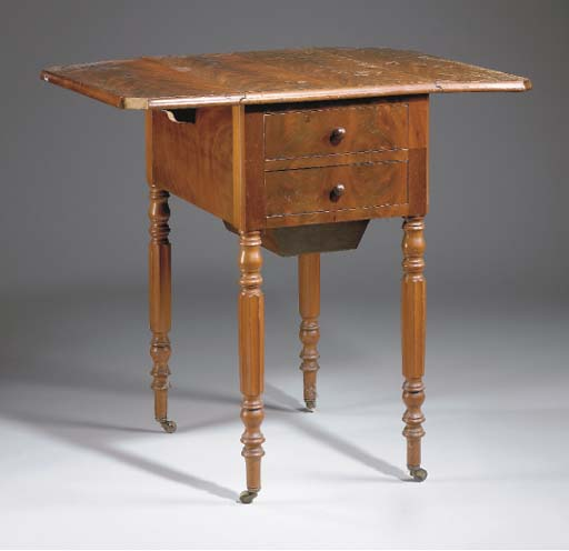 TABLE A VOLETS D'EPOQUE LOUIS-