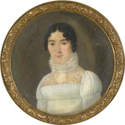 ECOLE FRANCAISE VERS 1800