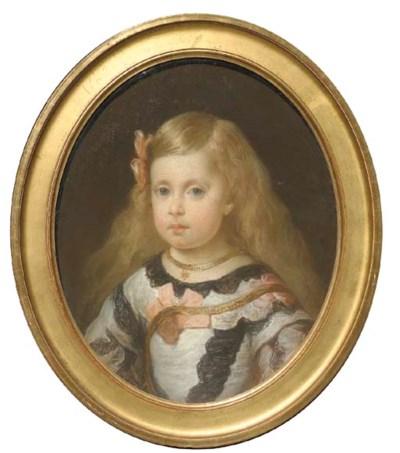 D'APRES DIEGO VELAZQUEZ (1599-