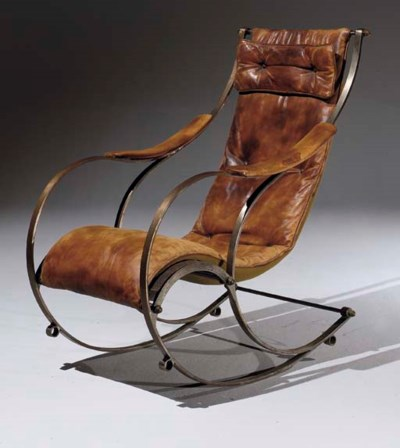 ROCKING CHAIR VICTORIEN