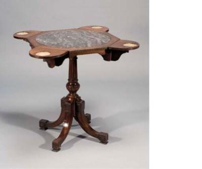 TABLE A THE DU XIXEME SIECLE