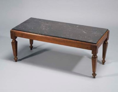 TABLE BASSE DE LA FIN DU XIXEM