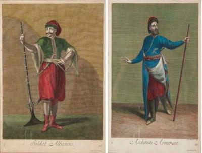 GERARD SCOTIN (1642-1718) ET J