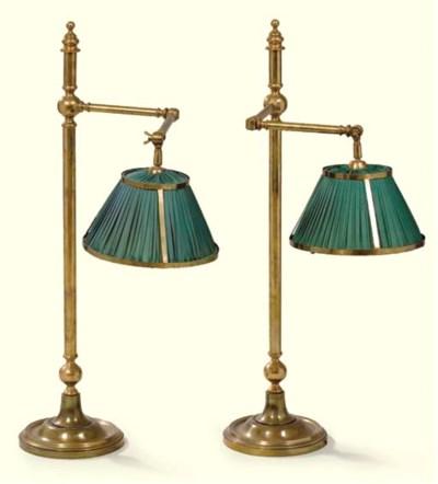 ENSEMBLE DE TROIS LAMPES MODER