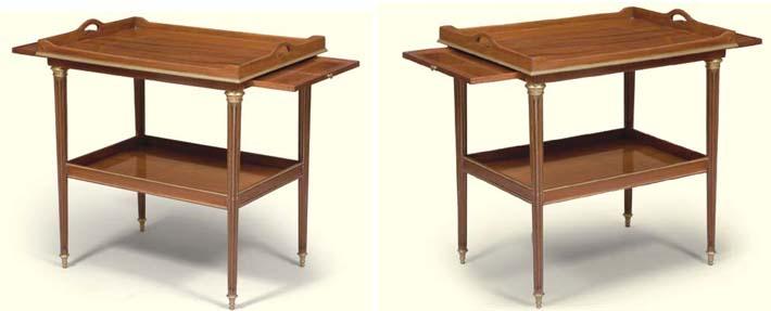 PAIRE DE TABLES D'APPOINT DE S