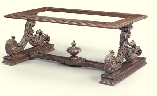 TABLE BASSE, TRAVAIL MODERNE