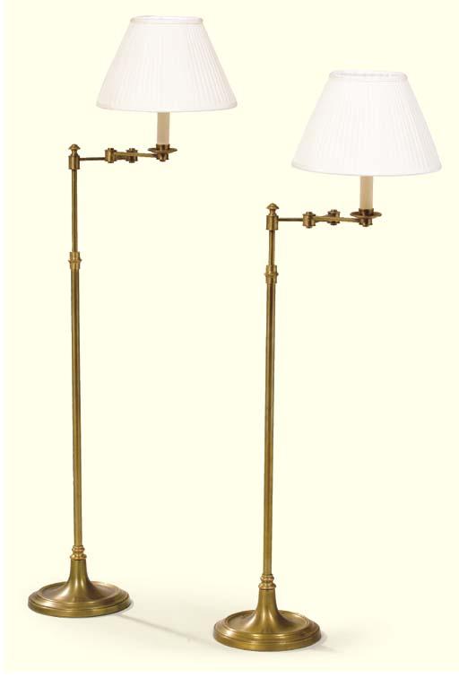 PAIRE DE LAMPES TELESCOPIQUES