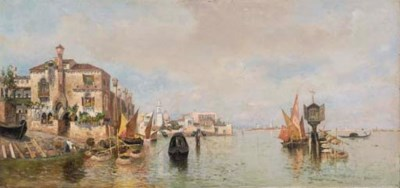 Egisto Massoni (Italia 1854-19