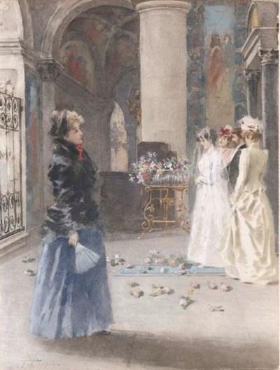 Angiolo Achini (Italia 1850-19