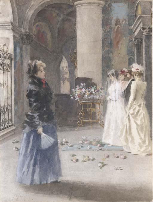 Angiolo Achini (Italia 1850-1930)