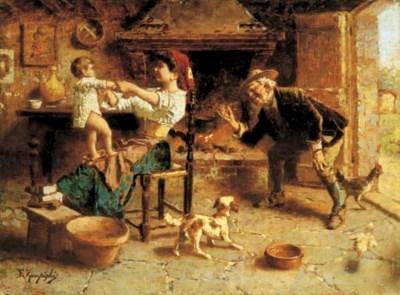 Eugenio Zampighi (Italia 1859-