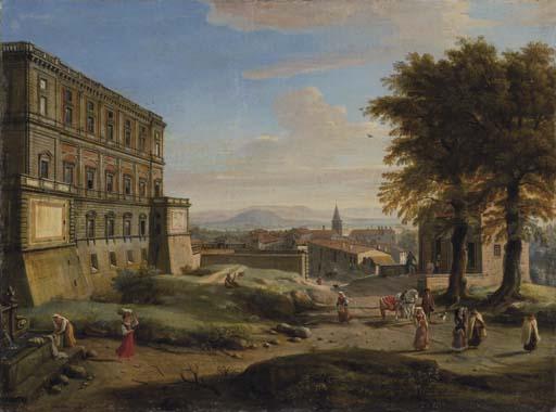 Gaspar van Wittel (Amersfoort 1653-1736 Roma)
