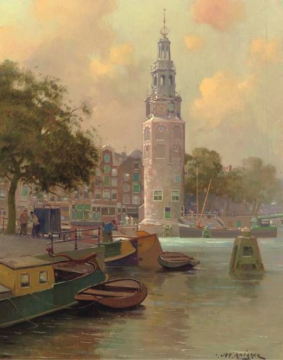 Jan Knikker Jun. (Dutch, 1911-