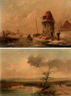 (2) Louis Sierich (Dutch, 1834